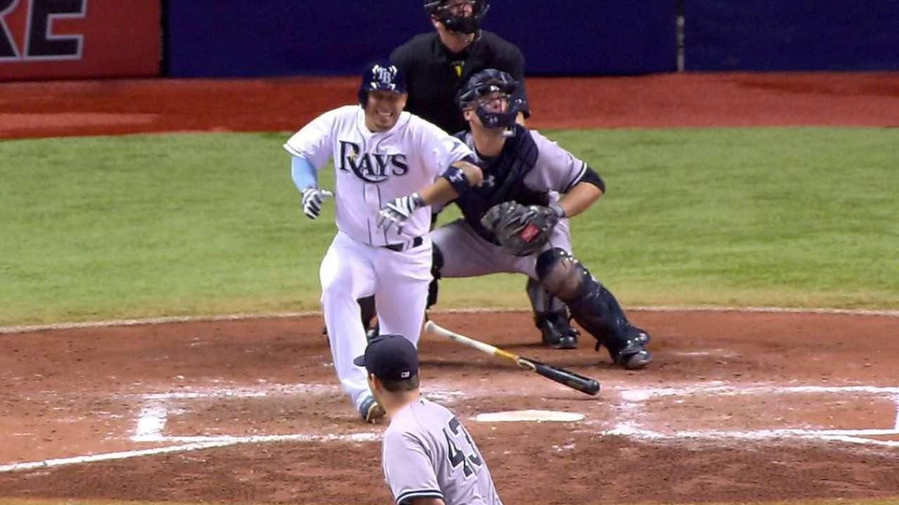 Asdrubal day to day with left knee strain