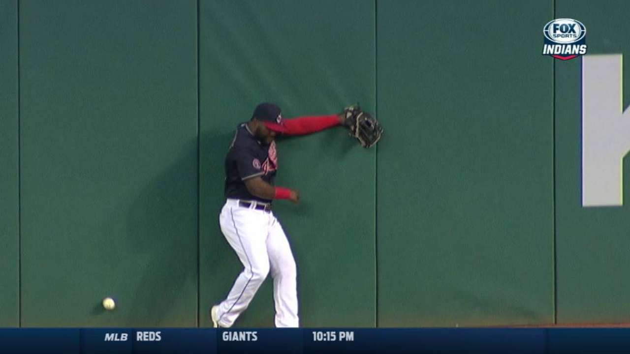 Indians' miscues lead to run