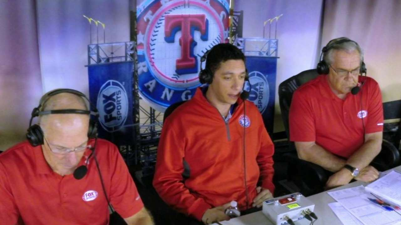 Daniels talks Rangers baseball