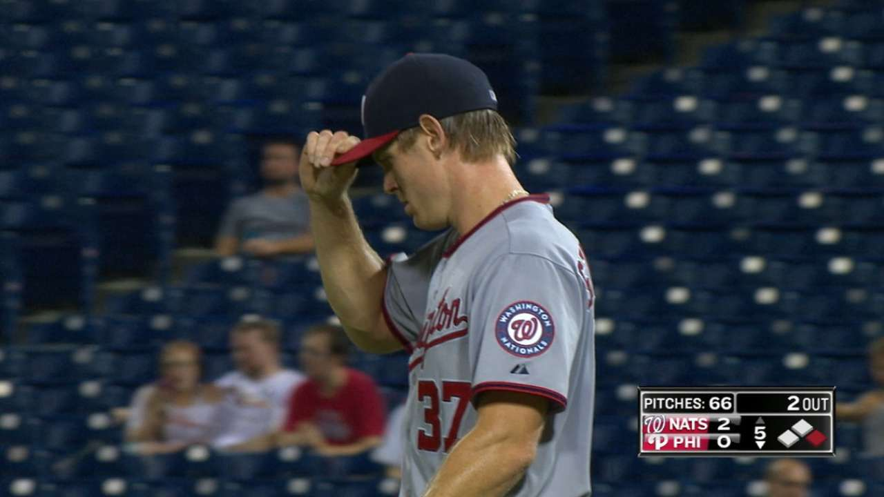 Strasburg strikes out 14 in win