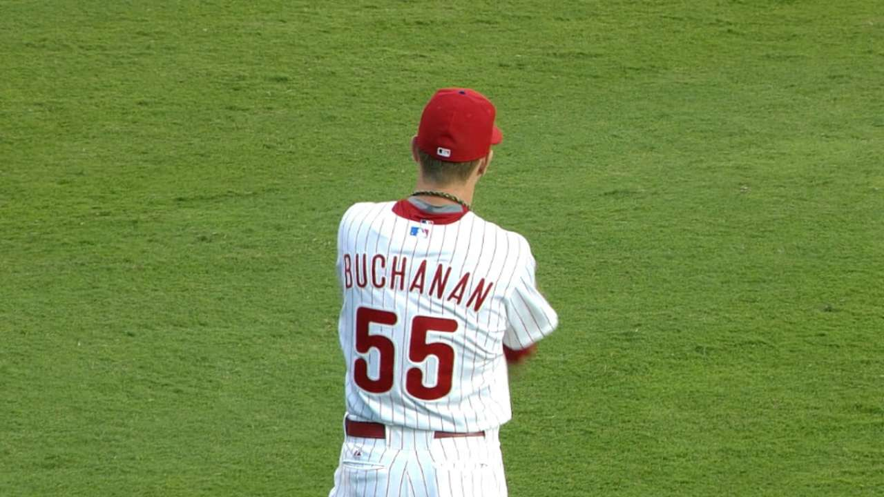 Buchanan redeems himself with solid start