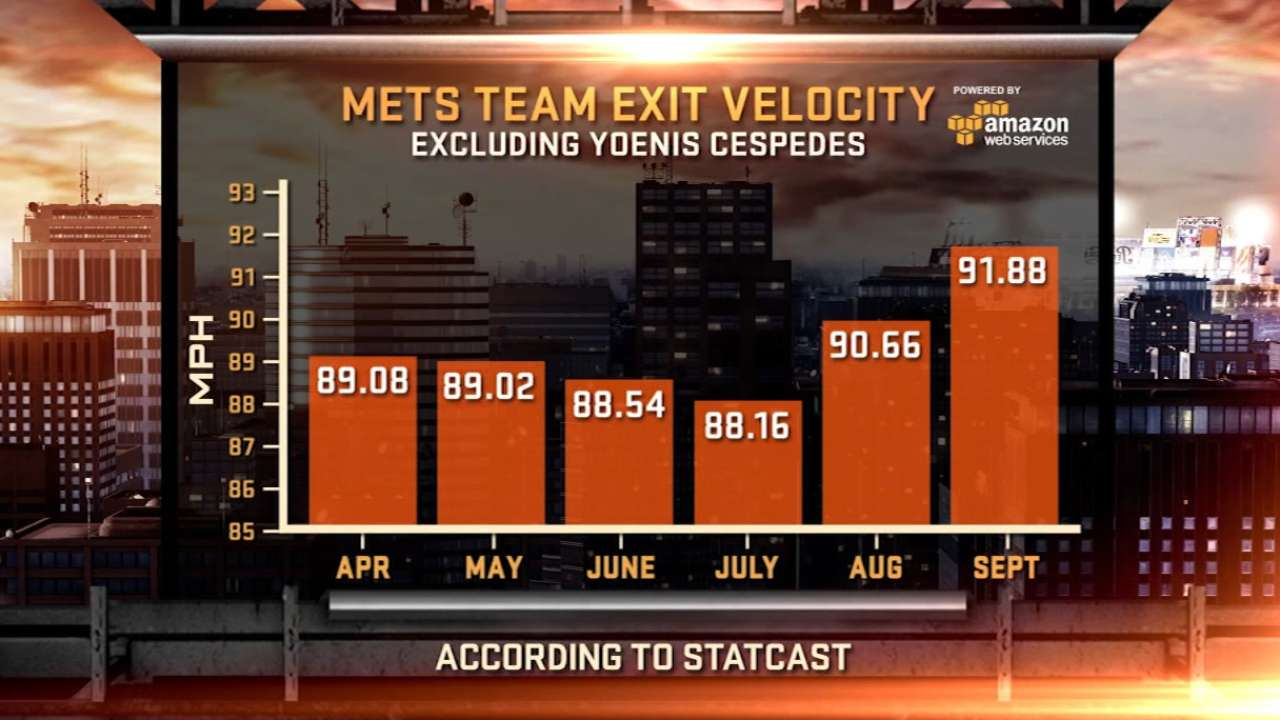 Mets' offensive explosion about more than just Cespedes