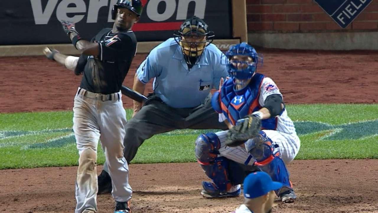 Marlins snap Mets' win streak at eight