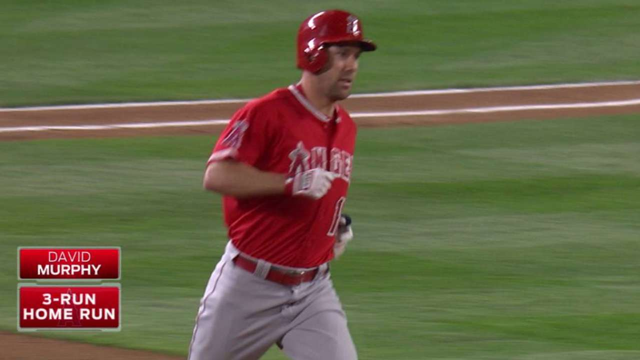 Murphy's three-run homer