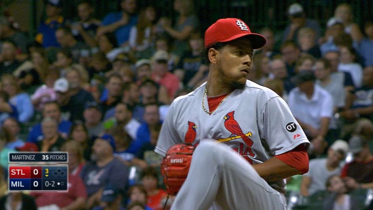 Martinez's dominant outing