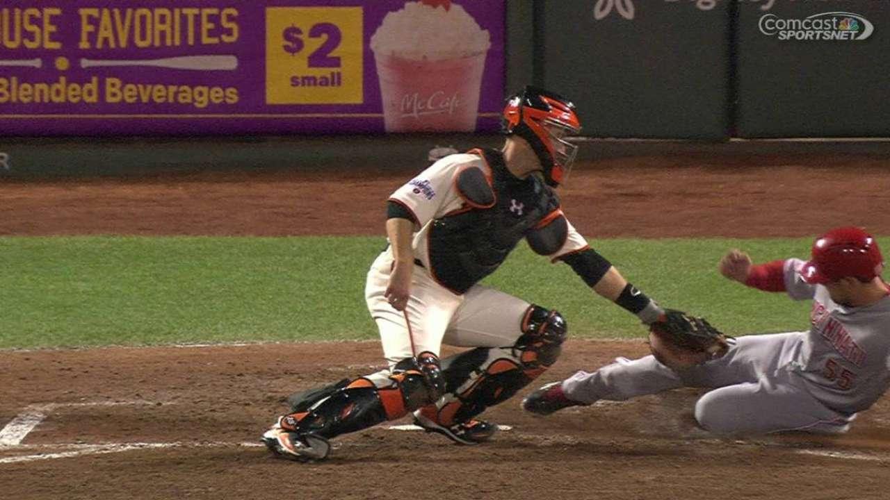 Giants get Schumaker at home