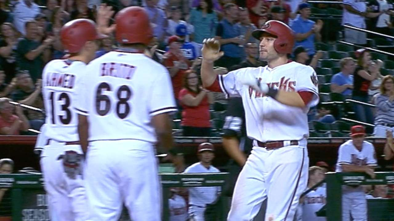 D-backs' five-run 7th