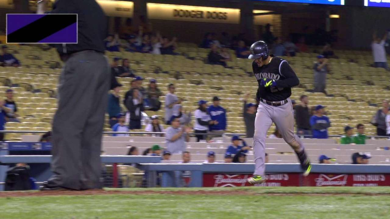 Arenado's 39th homer dooms Dodgers in 16th