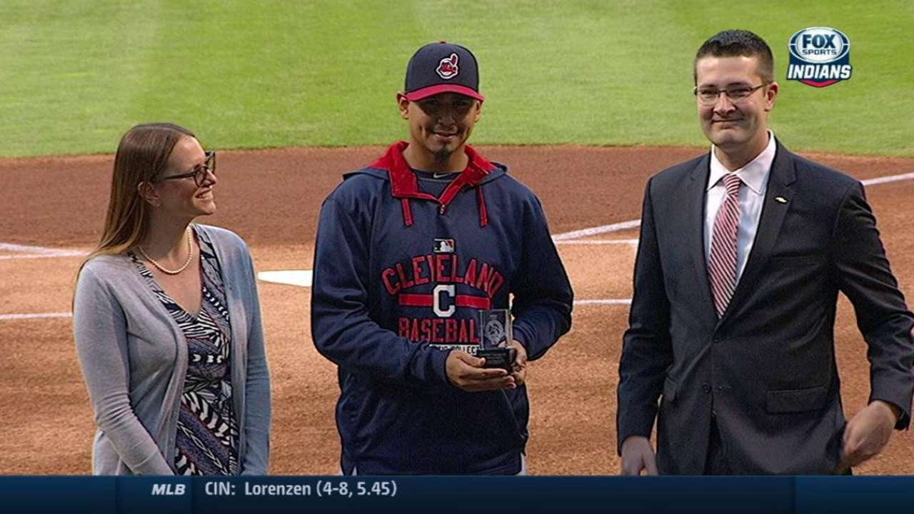 Carrasco gives back to community