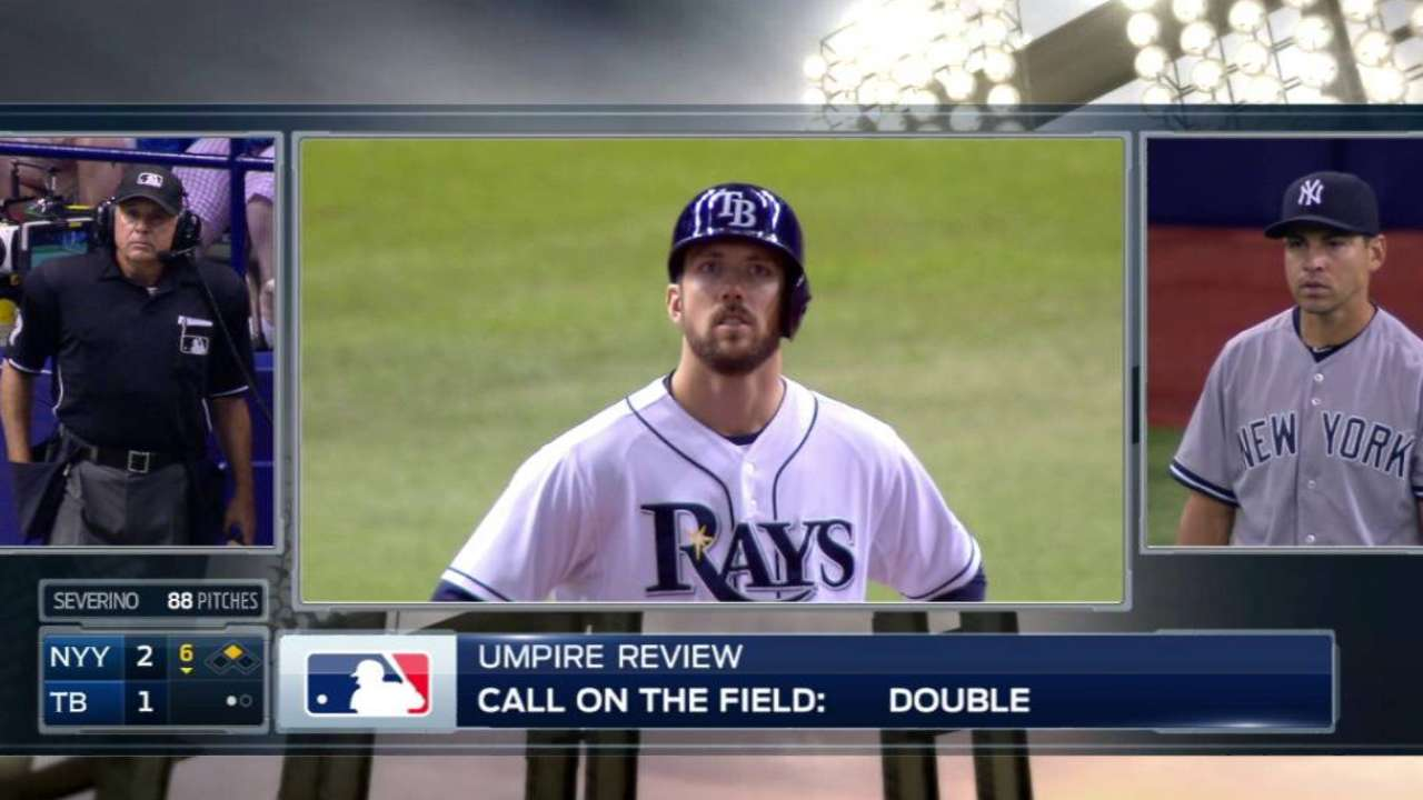 Umps review Souza Jr.'s high fly