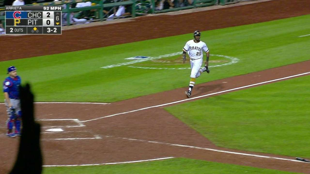 Marte channels Clemente with pair of plays