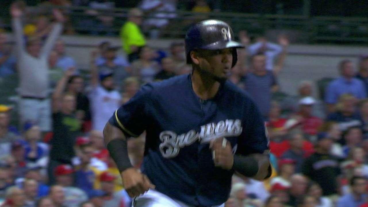 Maldonado's three-run blast