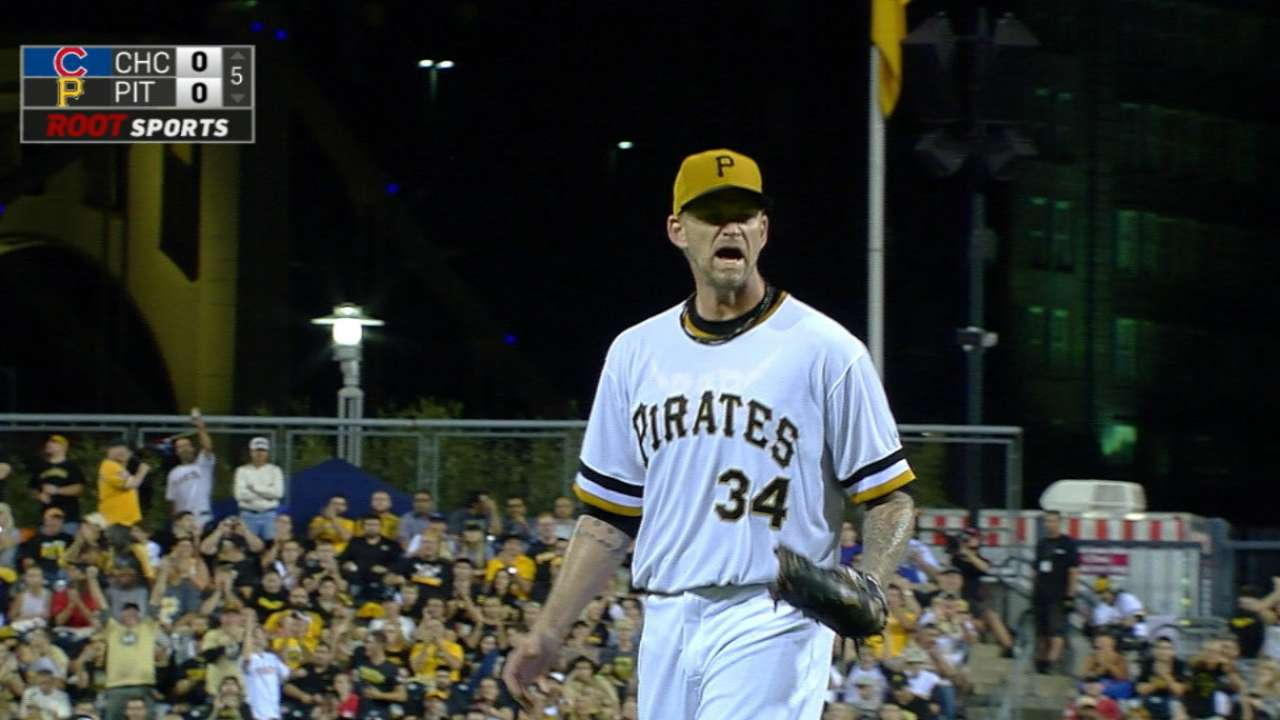 Burnett whiffs seven over 5 1/3