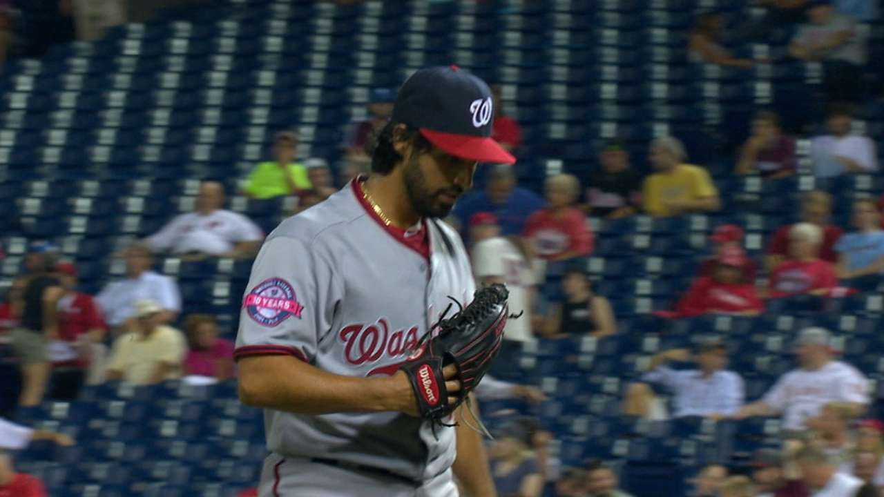 Werth, Gio help Nats gain ground in East
