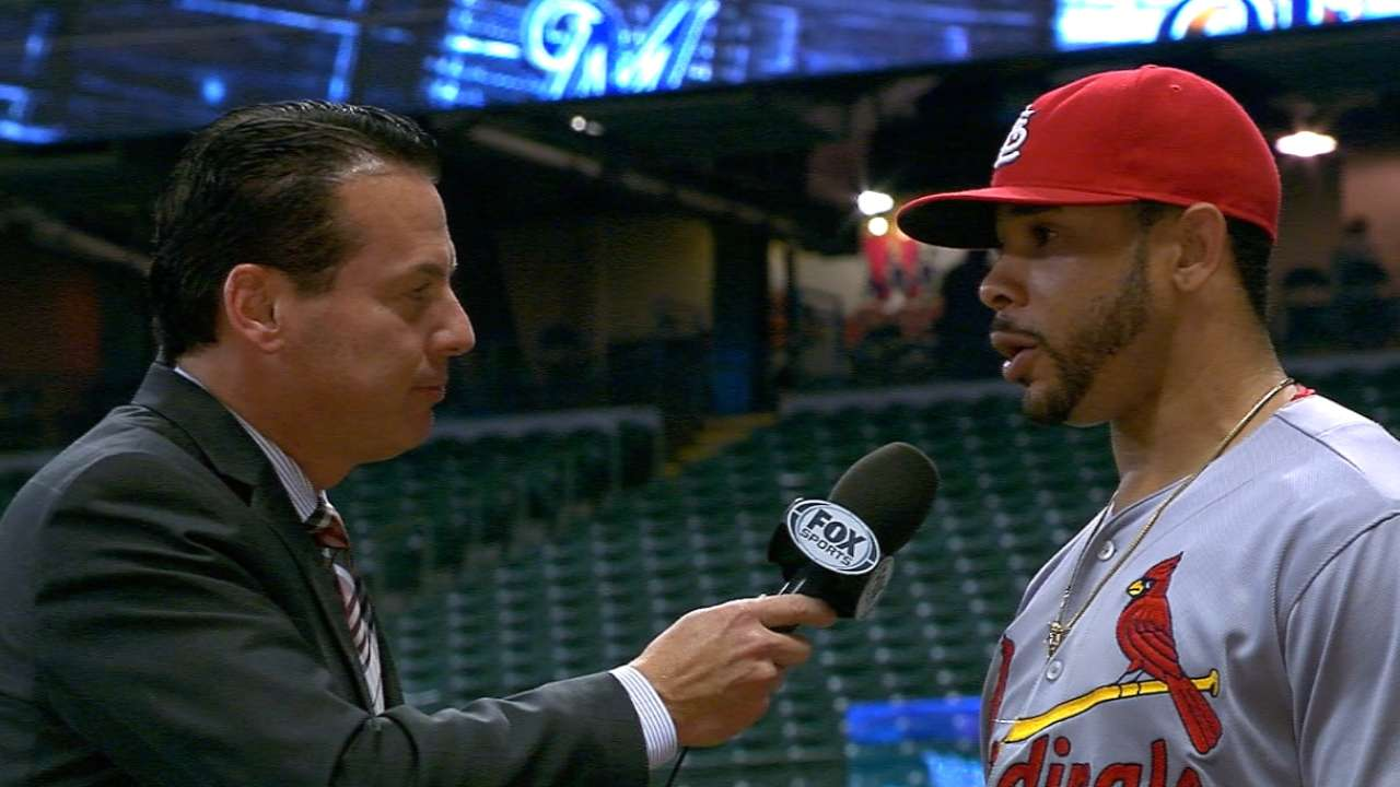 Pham shows off Cardinals' depth of talent