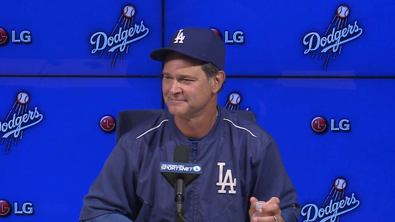 Mattingly on Dodgers' 2-0 win