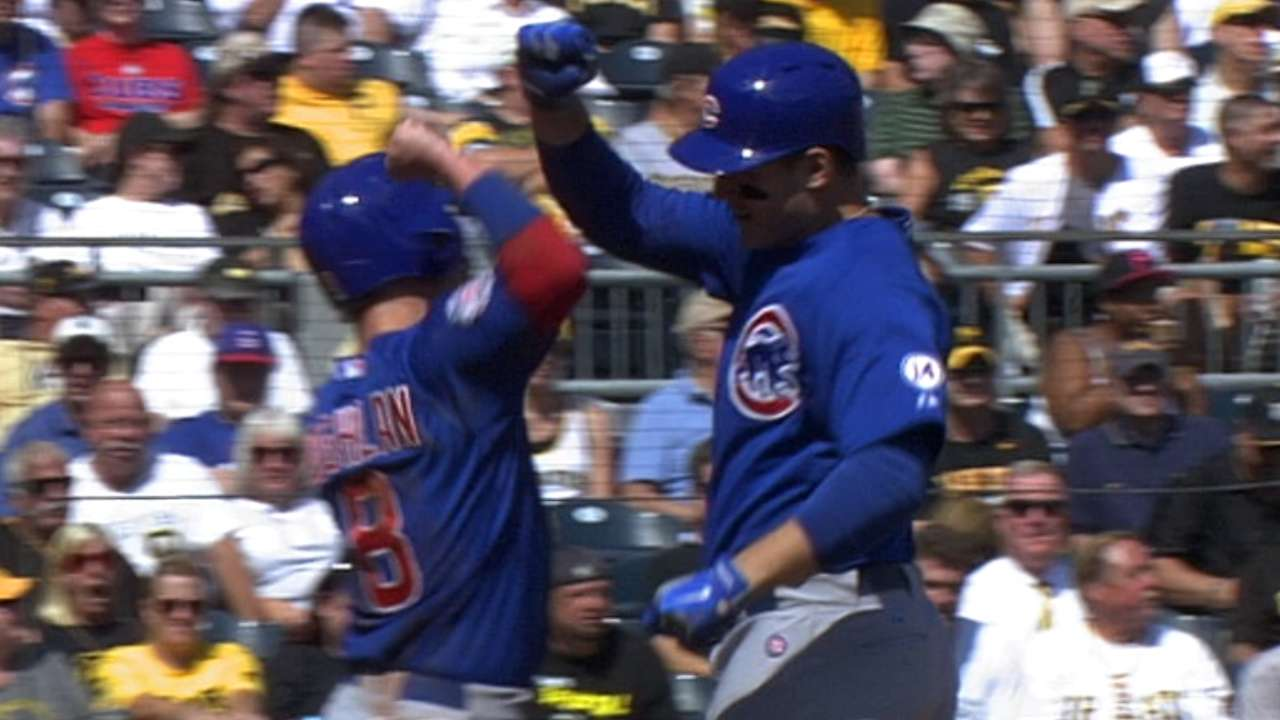 Six-run 5th helps Cubs put stamp on 7-4 trip
