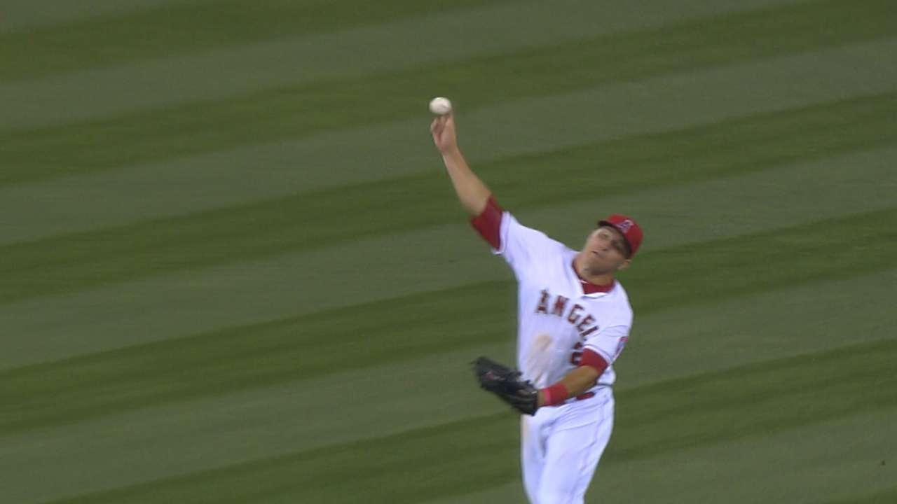 Trout adds arm strength, rounds out toolbox