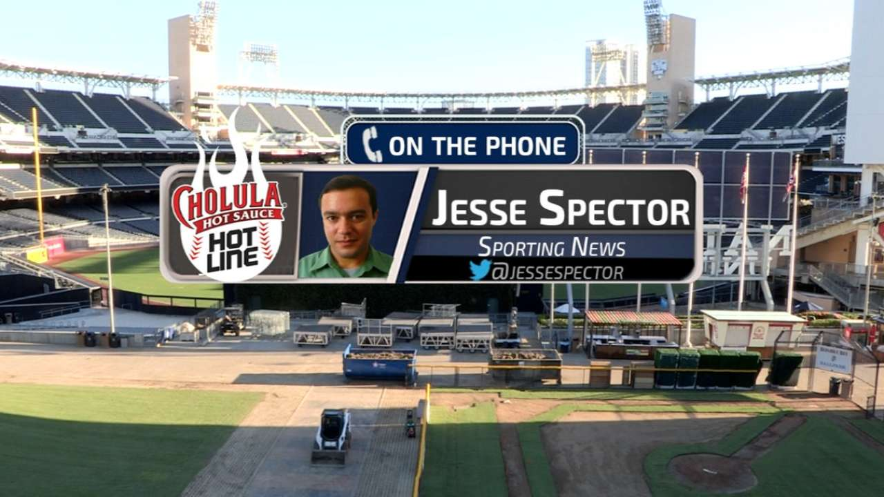 Spector discusses his ideas on realignment