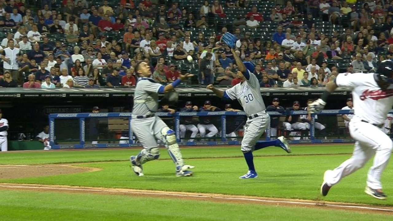Perez shows off range, arm