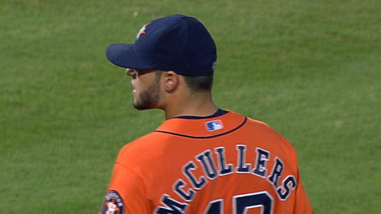 McCullers' quality start