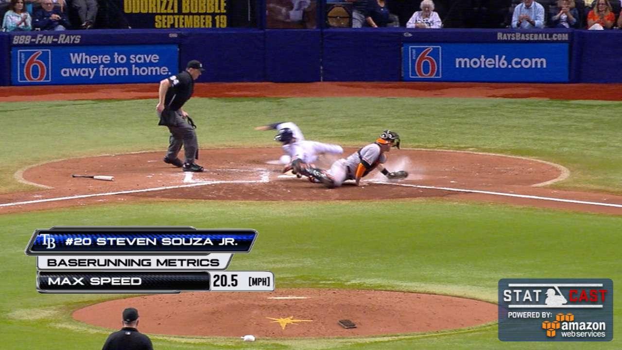 Statcast: Souza Jr. flies home