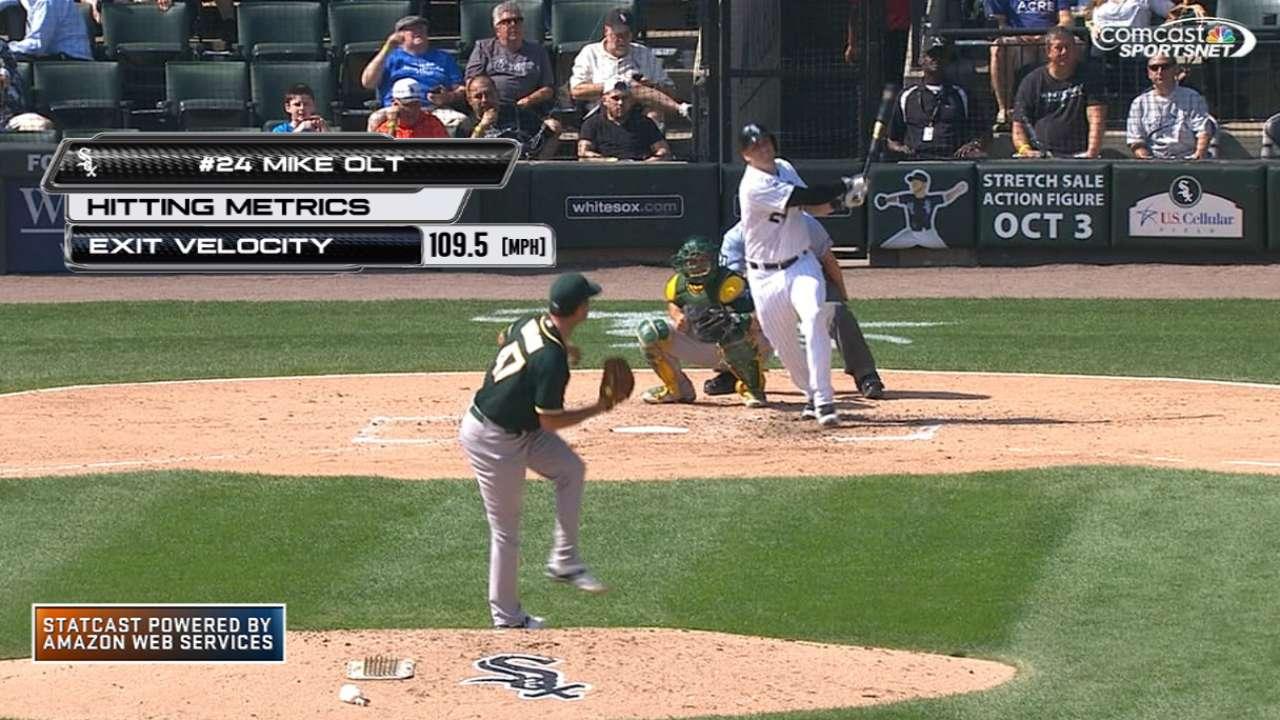 Statcast: Olt's 448-foot homer