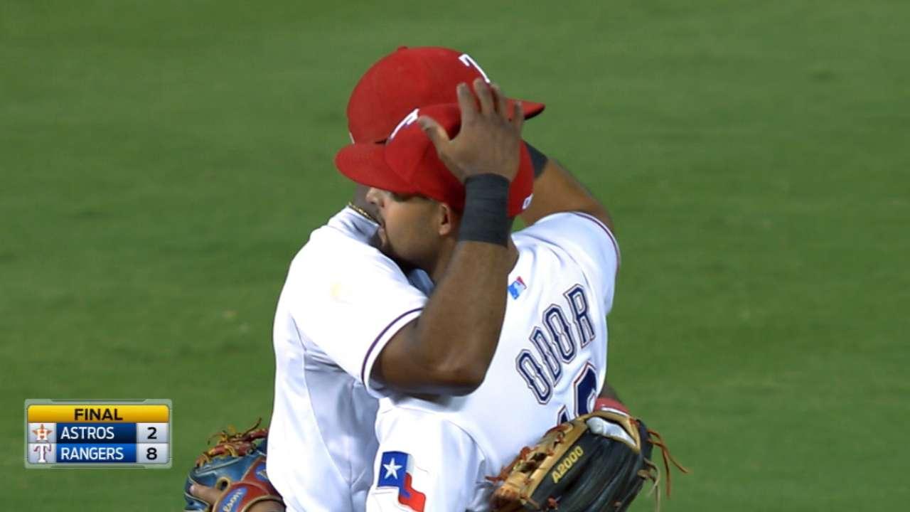 Rangers send Astros home empty-handed