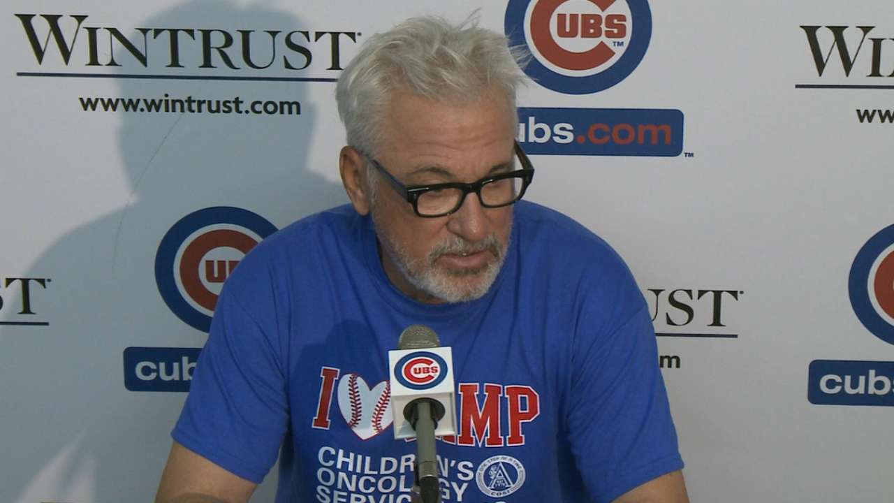 Maddon on Castro, retaliation
