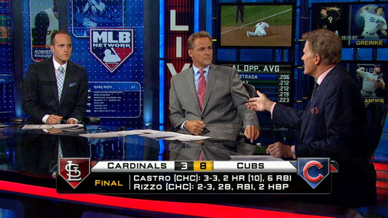 MLB Tonight on Cards-Cubs game