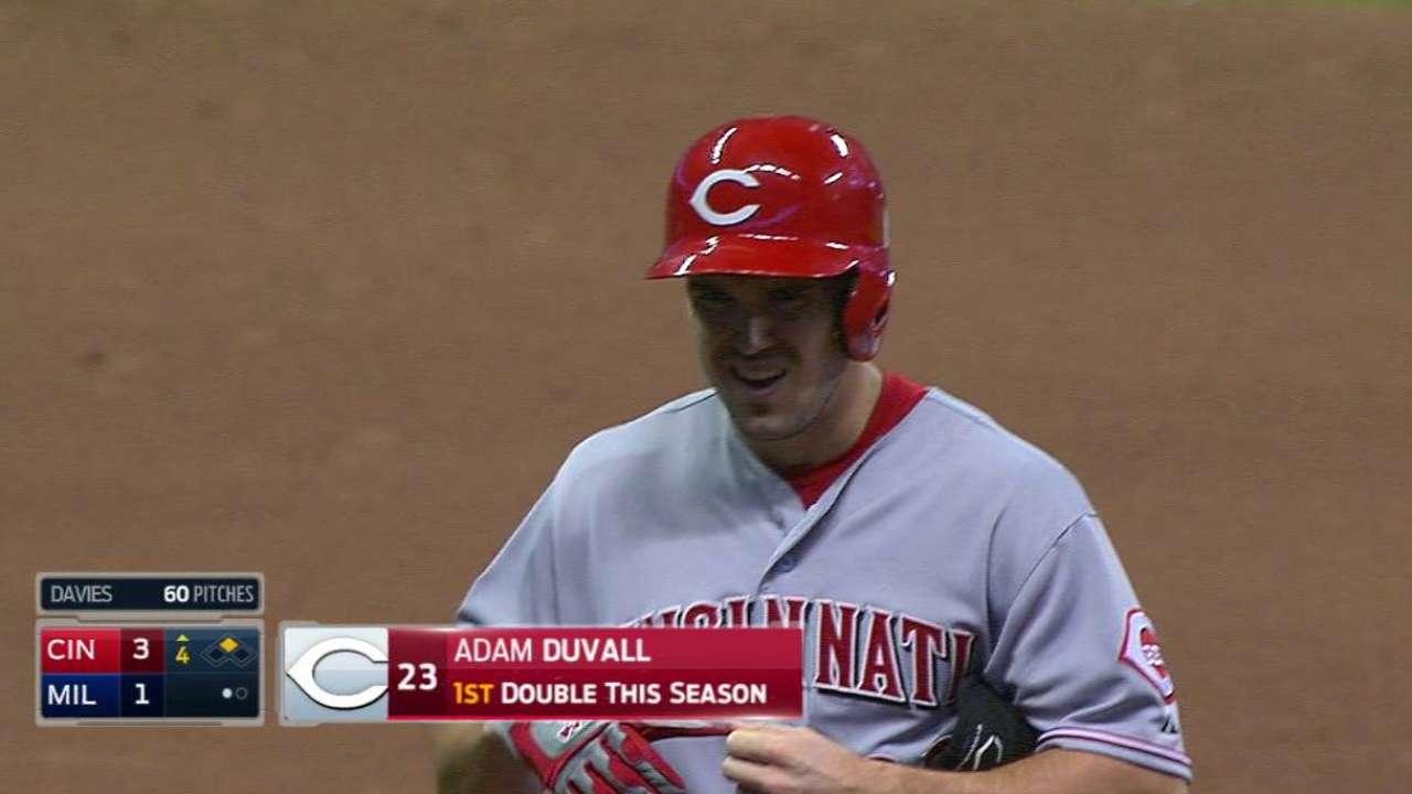 Duvall's RBI double