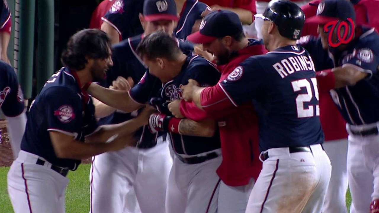 Nats get final word, walk off in 10th vs. Miami