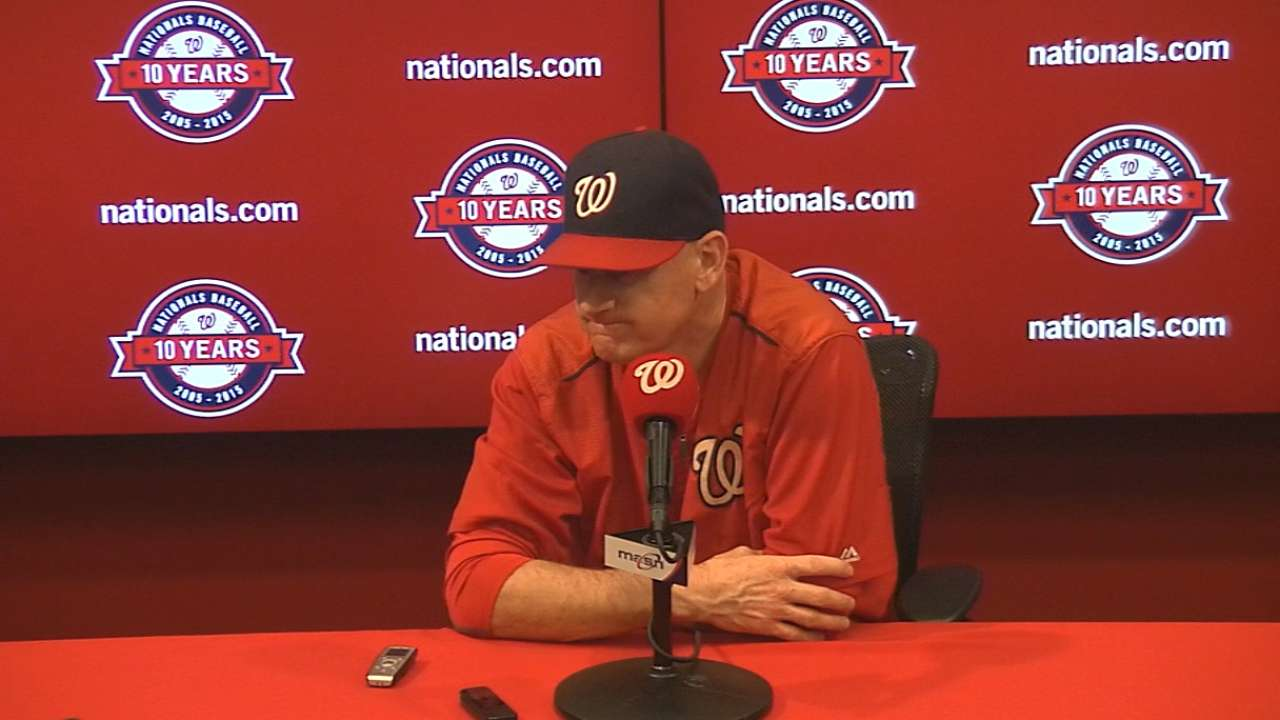 Williams on Nationals' 5-4 win