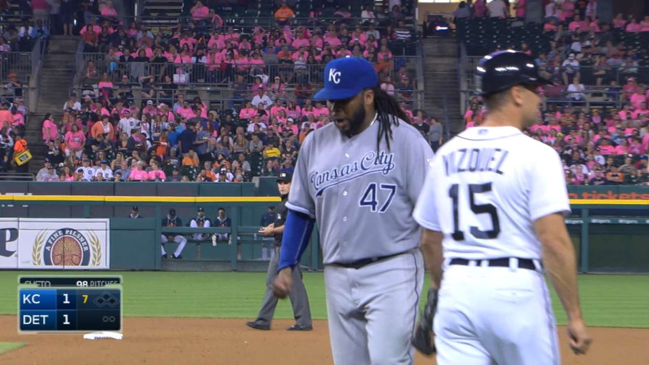Cueto on 'target' with Salvy in strong outing