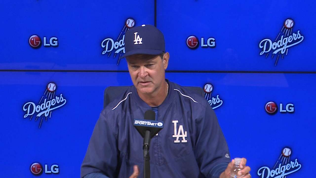 Mattingly on Dodgers' 6-2 win
