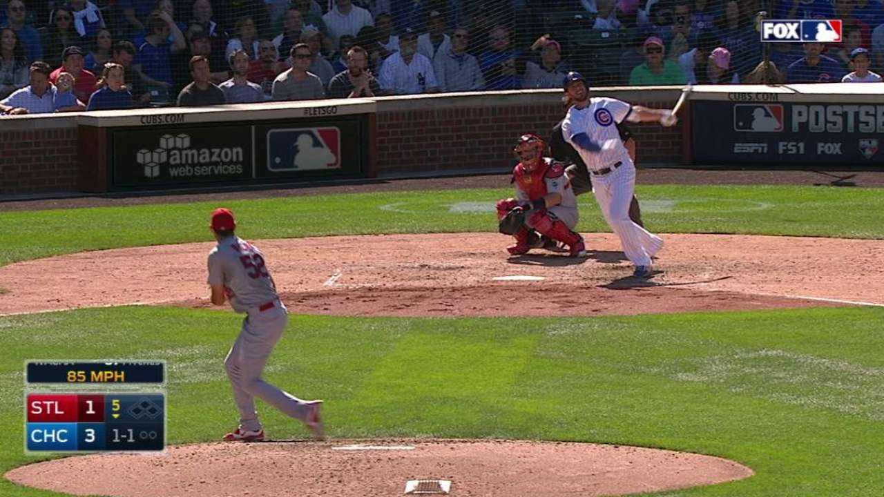 Bryant ties Cubs rookie record with 25th HR
