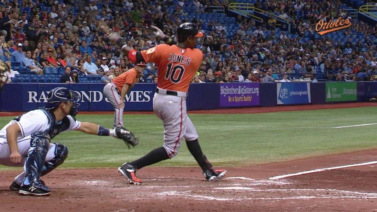 O's bats back strong Chen to edge Rays