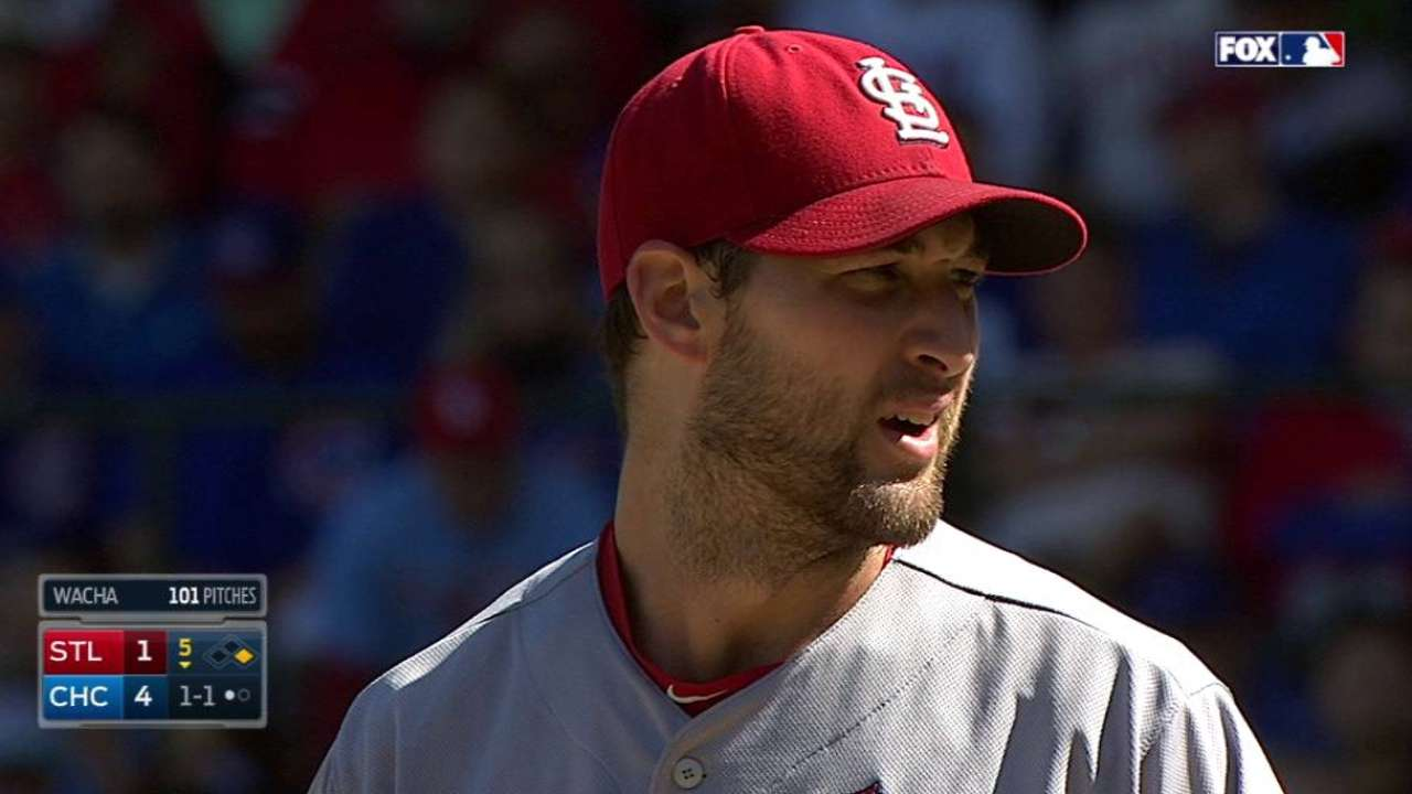 Wacha picks off Rizzo