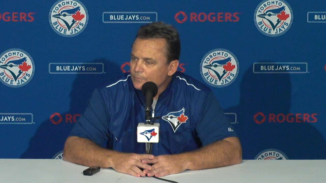 Osuna has 'bad day,' but Blue Jays not concerned