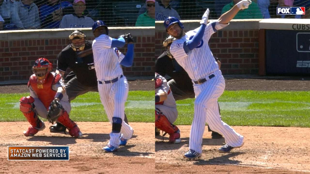 Statcast: Soler, Bryant homer