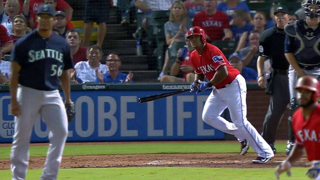 Beltre's two-run double