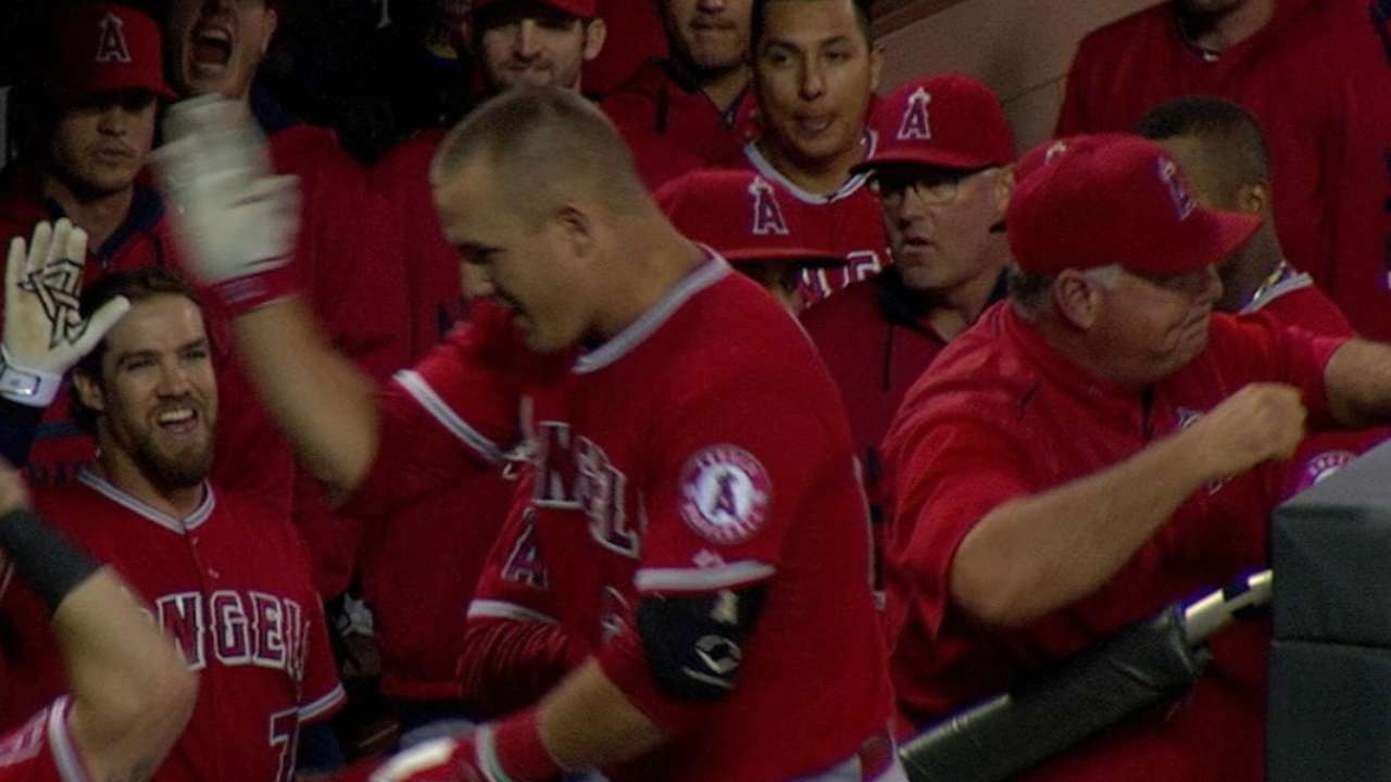 Trout's 39th homer