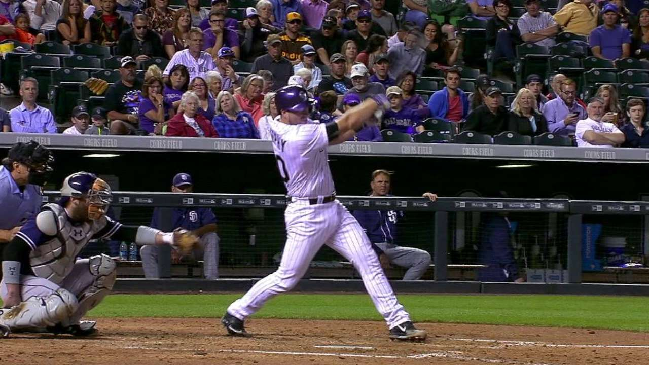 Murphy's first career homer
