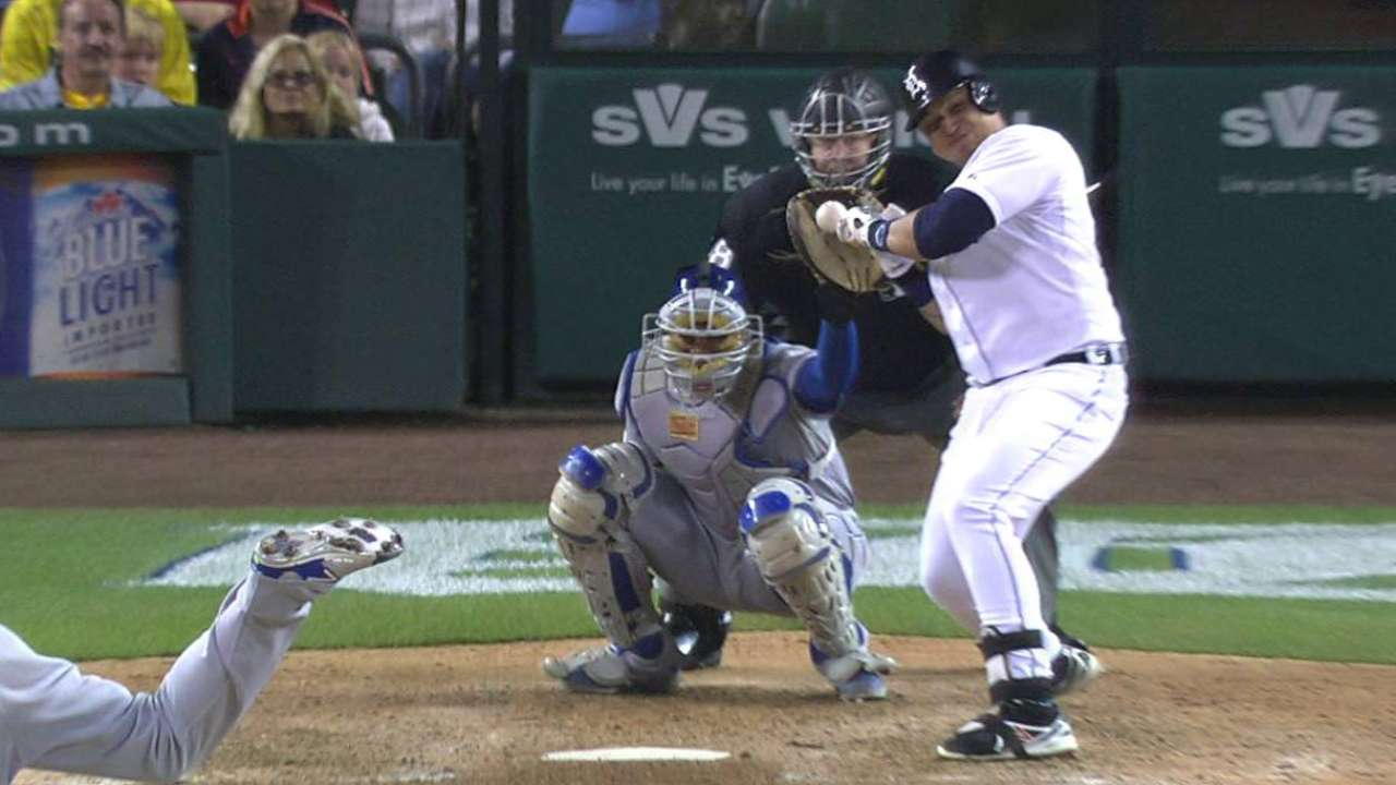 Miggy's hit-by-pitch
