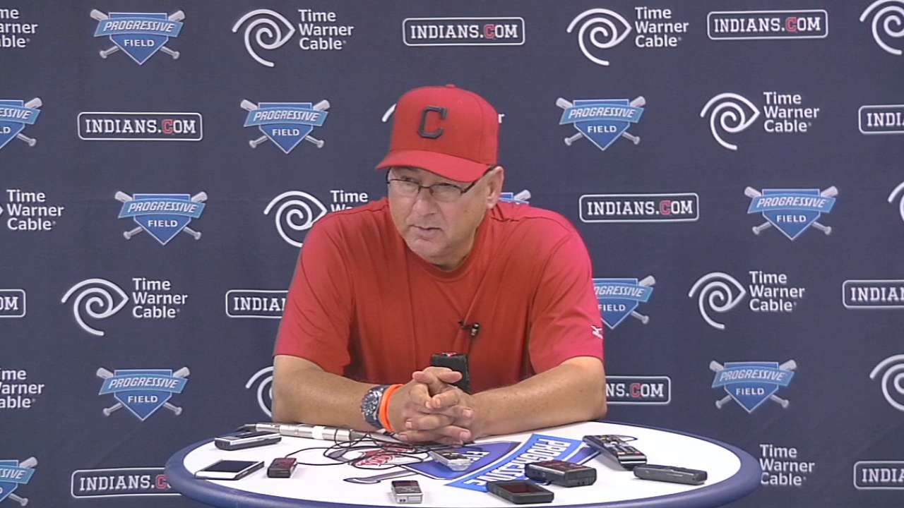 Francona on Indians' 4-3 loss