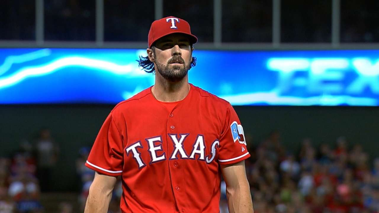 Rotation shifted to give Hamels another start