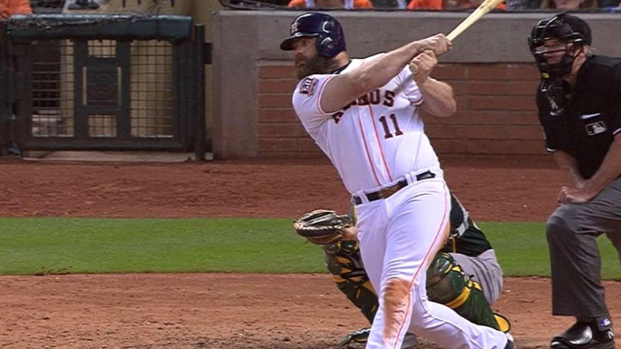 Wake-up call: Gattis reinvigorates Astros