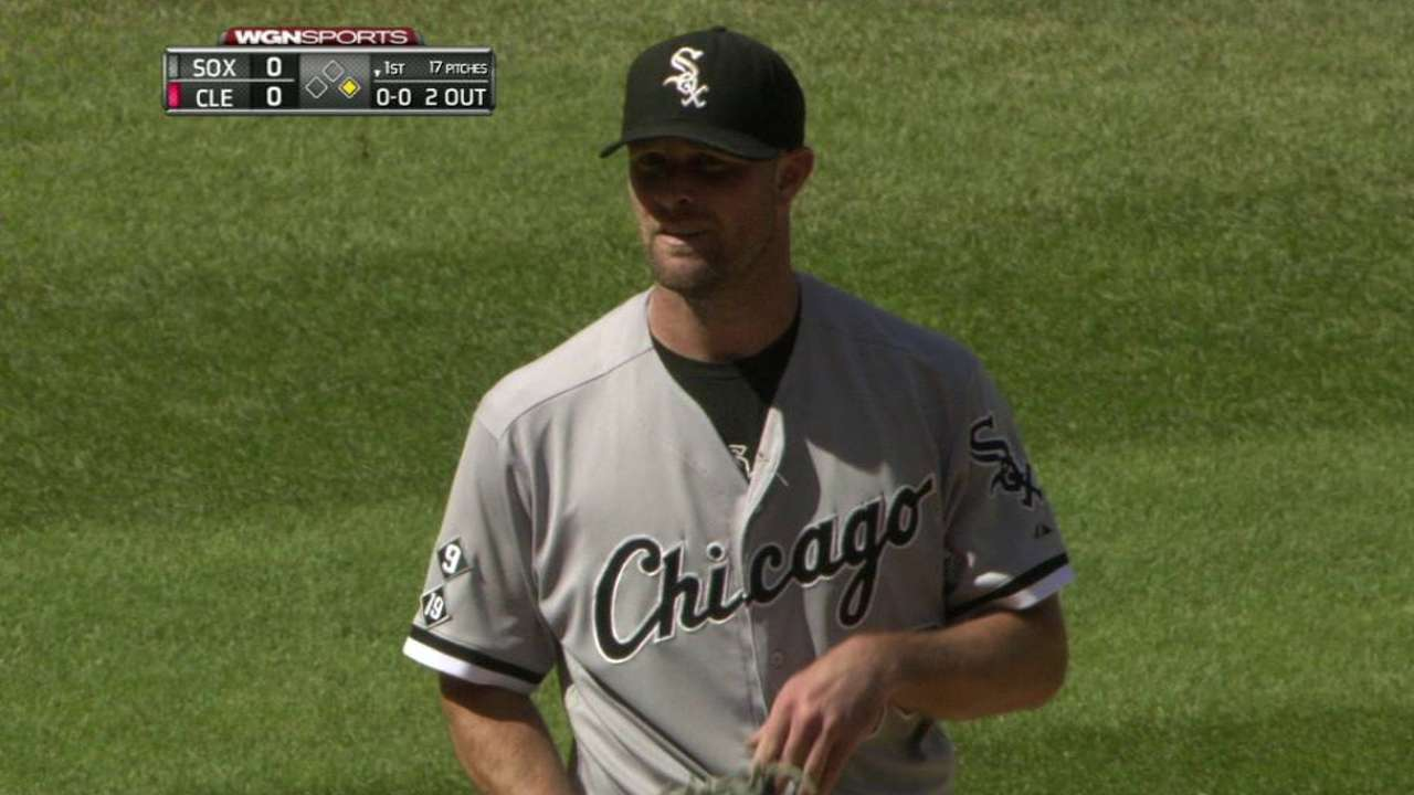 Danks hopes to roll better 2nd half into 2016