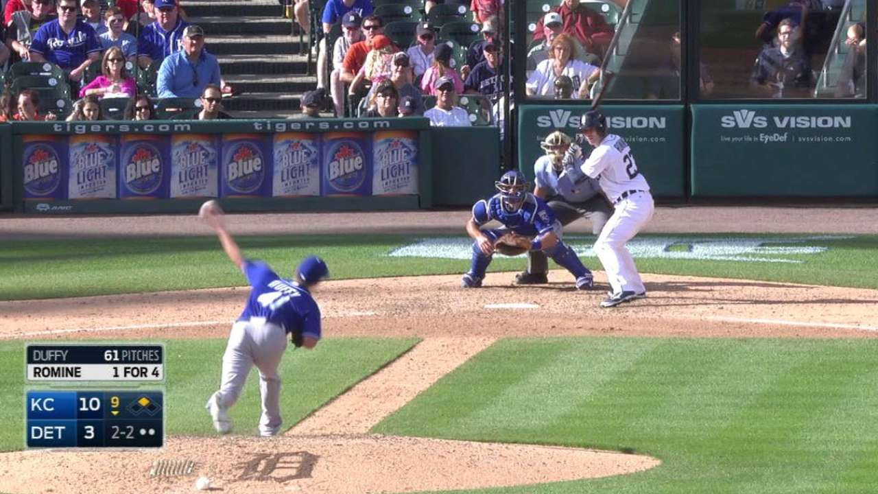 Duffy's first save