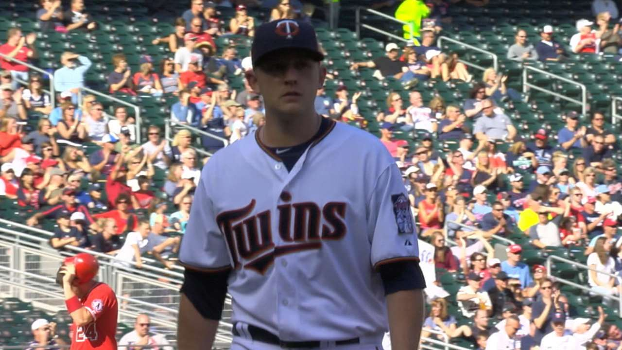 Impressive Duffey leaves Twins with tough call